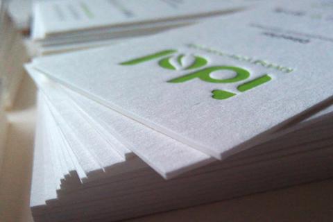 环保名片纸